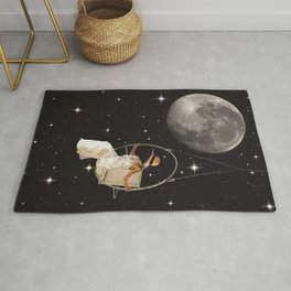 Hanging In Space Rug