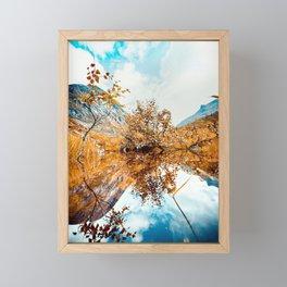 Norway dreams Framed Mini Art Print
