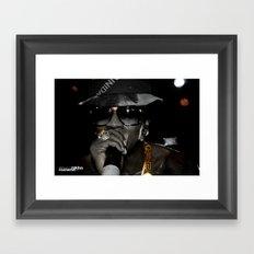 BLACK & GOLD: Trinidad James pt.3 Framed Art Print
