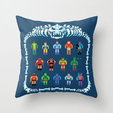 Evil Masters of the Universe Throw Pillow