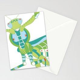 Robot Mantis Stationery Cards