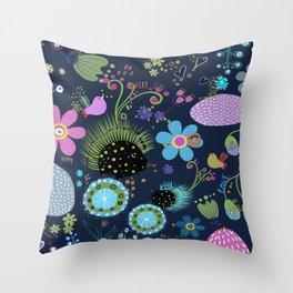 Sweet hedgehog Throw Pillow