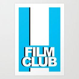 Film Club Art Print