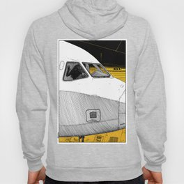 asc 698 - Le tarmac la nuit (Your flight was delayed due to technical problems) Hoody