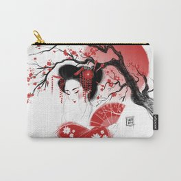 Red Geisha Carry-All Pouch