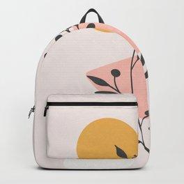Blush Pink Shapes 01 Backpack