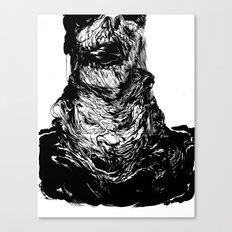 Neckface - Zombie Print Canvas Print