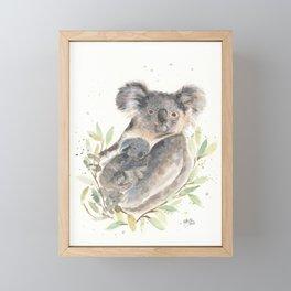 Koalas Framed Mini Art Print