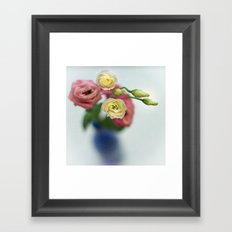 Vintage Irish Rose Framed Art Print