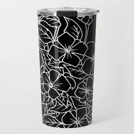 Cascading Violets Travel Mug