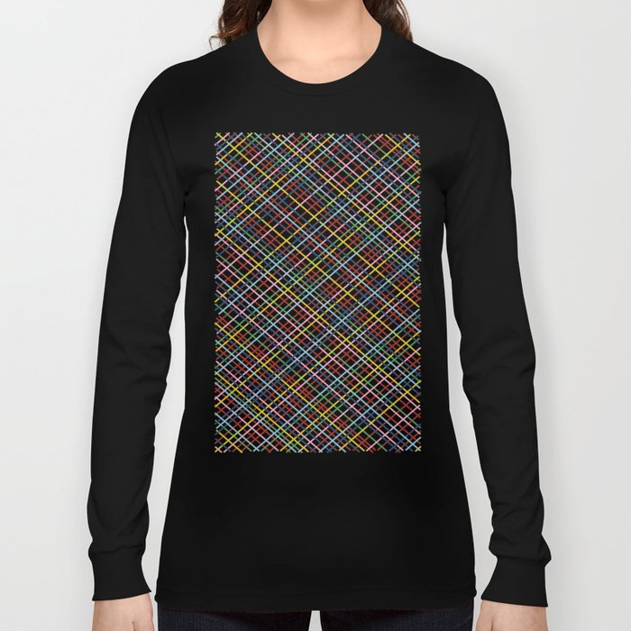 Rainbow Weave 45 Long Sleeve T-shirt