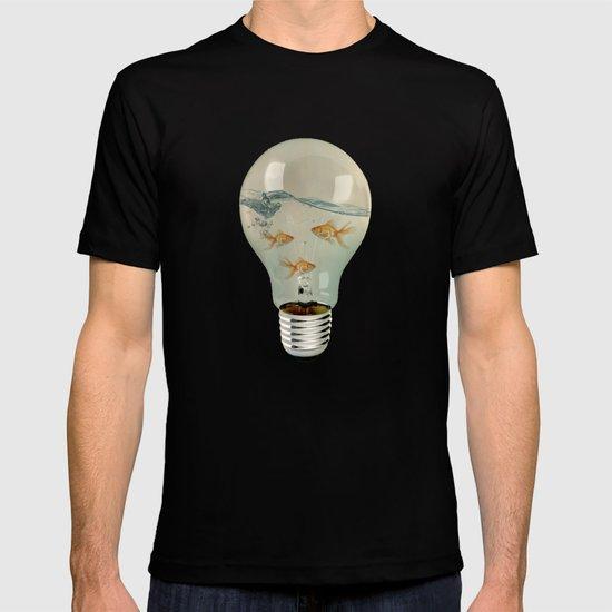 ideas and goldfish 03 T-shirt