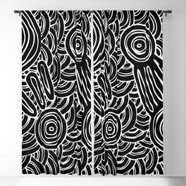 Aboriginal Art Authentic - Meeting Places Blackout Curtain