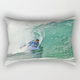 Bodyboarding Newport Wedge  4-24-13 Rectangular Pillow