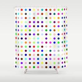 Big Hirst Polka Dot Shower Curtain