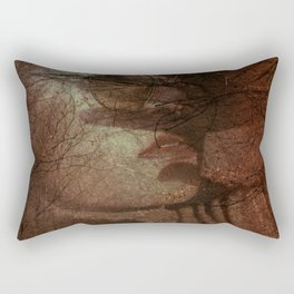 Autumn portrait Rectangular Pillow