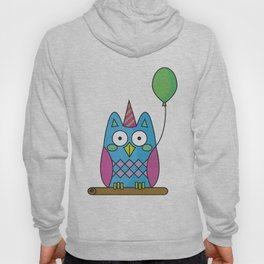Nutty the Owl - Party Animal Hoody