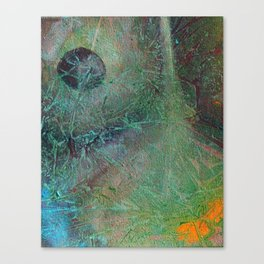 The Date Canvas Print