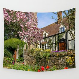 Colourful Spring Wall Tapestry