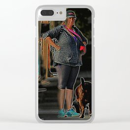 The Look Clear iPhone Case