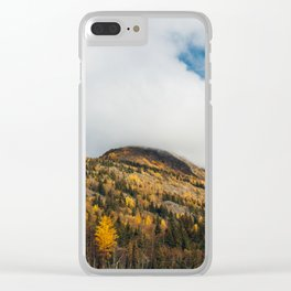 Autumn at Bird Creek IV Clear iPhone Case
