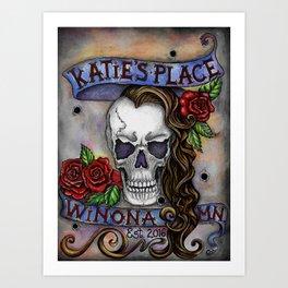 Katie's Place by DeeDee Draz Art Print