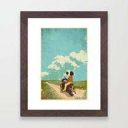 STORM CHASERS Framed Art Print