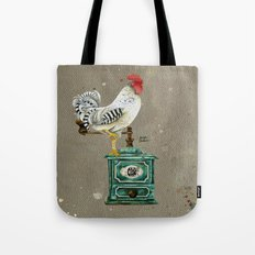 Rooster Wallace 2 Tote Bag