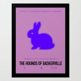 The Hounds of Baskerville Art Print