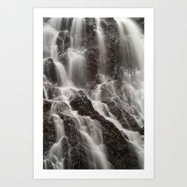Hays Falls Art Print