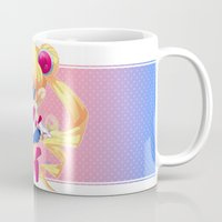 sailor moon Mugs featuring Sailor Moon by Corpse Cutie