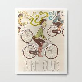 Three Furies Bike Club Metal Print