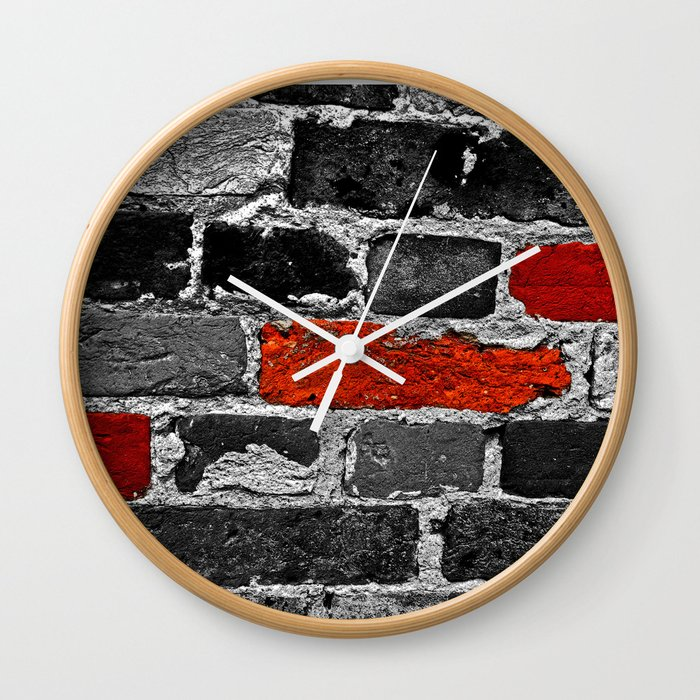 OTHER BRICKS IN THE WALL Wall Clock