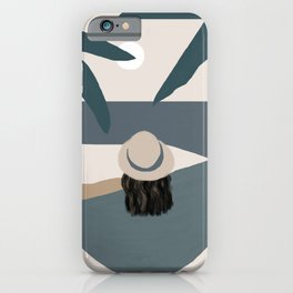 Me Time - Girl Just Relax iPhone Case