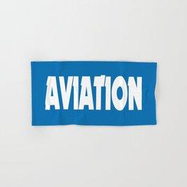 Aviation Hand & Bath Towel