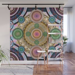 Psychedelic all up in yo' Grill Wall Mural