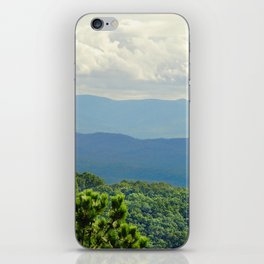 Mountains photography iPhone Skin