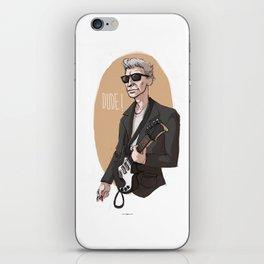 DUDE! iPhone Skin