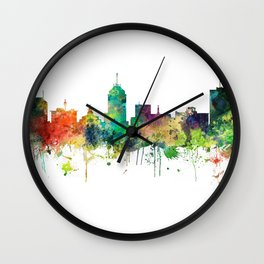 Fresno California Skyline - SP Wall Clock