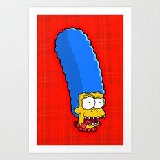 Large Marge Art Print