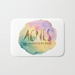 Agnes in Wonderland Bath Mat