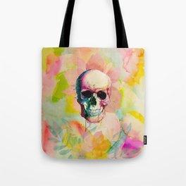 A Happy Skull Tote Bag