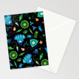 Phytoplankton Stationery Cards