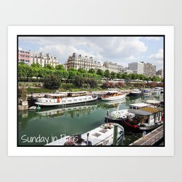 Photo: Sunday in Paris (5 May 13) Art Print