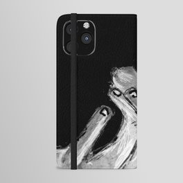 Michael Smoking B&W iPhone Wallet Case