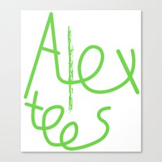Alex cool tees Canvas Print