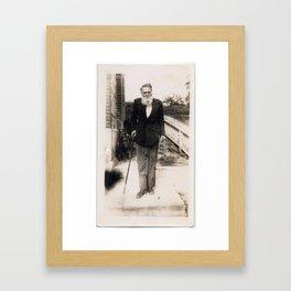 Captain Morrow Framed Art Print