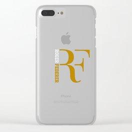 ROGER FEDERER Clear iPhone Case