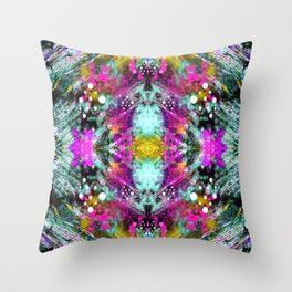 Mirror Print Throw Pillow