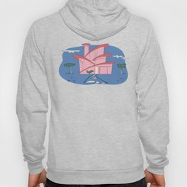 Pink Panther's Modern House Hoody